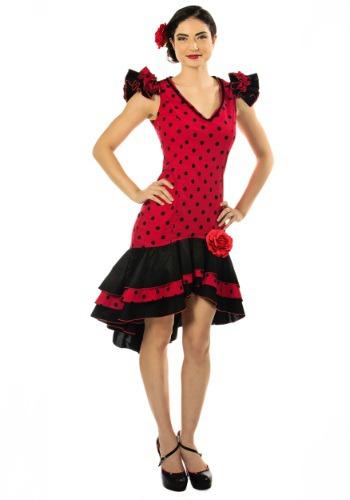 Disfraz de bailarina española para mujer talla extra