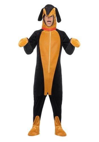 Disfraz de perro salchicha para adulto