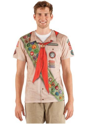 Camiseta de Scout con insignias