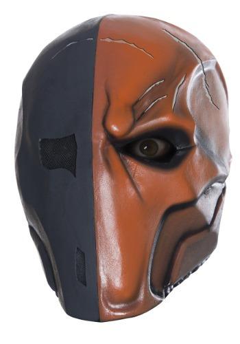 Máscara de látex Deathstroke para adulto