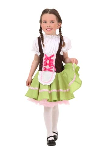 Disfraz de chica alemana para niños pequeños