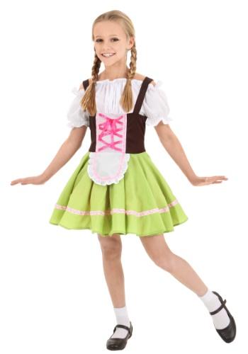 Disfraz infantil de chica alemana