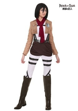 Disfraz de Mikasa de Attack on Titan