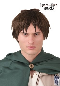 Peluca de Eren Yaeger de Attack on Titan