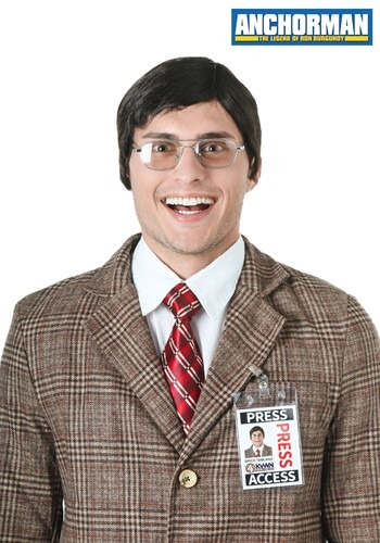 Kit de Brick Tamland de Anchorman
