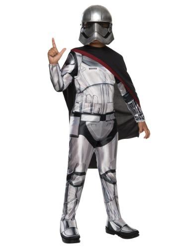 Disfraz de Capitán Phasma para niño de Star Wars Ep 7 clásic