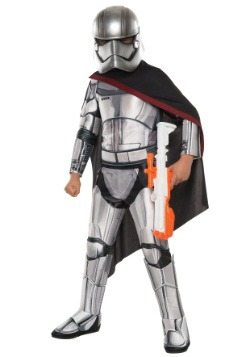 Niño Deluxe Star Wars Ep. 7 Disfraz de capitán Phasma
