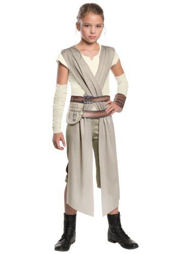 Niño clásico Star Wars Ep. 7 Rey Costume