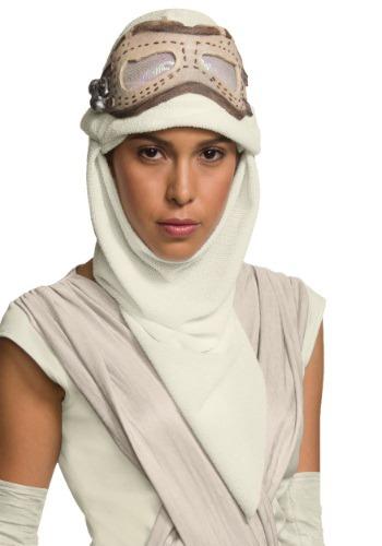 Adult Star Wars Ep. 7 Rey Eye Mask con capucha