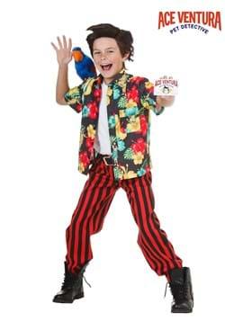 Disfraz de niño Ace Ventura con peluca