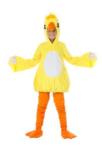 Disfraz infantil de pato