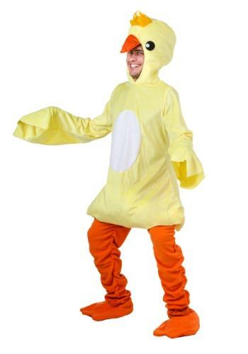 Disfraz de pato para adulto