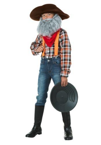 Disfraz infantil de prospector