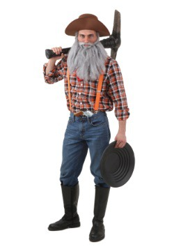 Disfraz de prospector talla extra