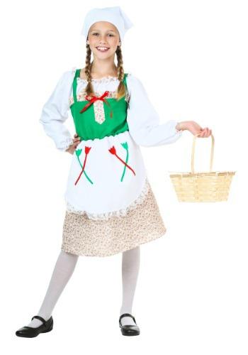 Disfraz infantil de chica alemana deluxe