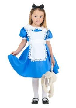 Disfraz de Alicia Suprema para niños pequeños