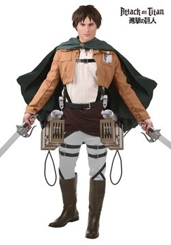 Disfraz de lujo de Eren Jaeger de Attack on Titan
