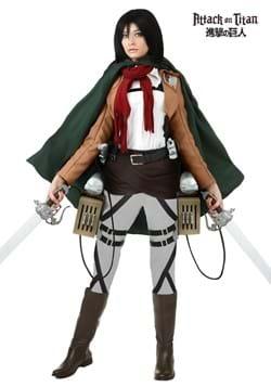Disfraz de lujo de Mikasa de Attack on Titan