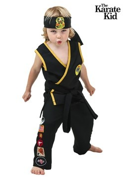 Disfraz de Cobra Kai para niños pequeños