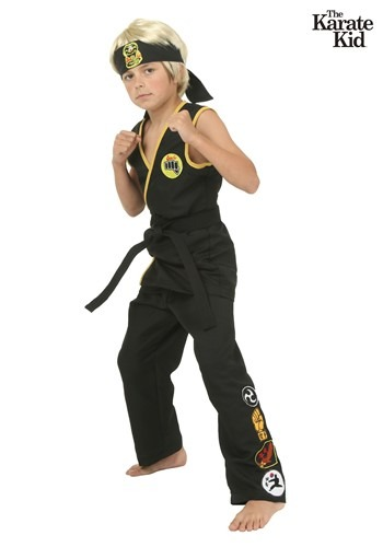 Disfraz infantil de Cobra Kai