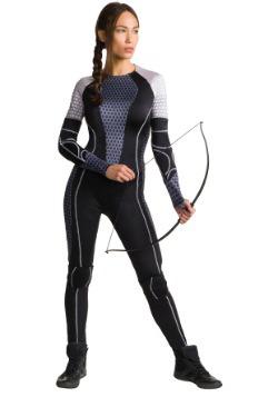 Disfraz de Katniss de En Llamas para adulto