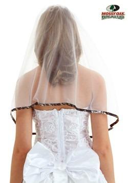 Velo de novia roble con musgo