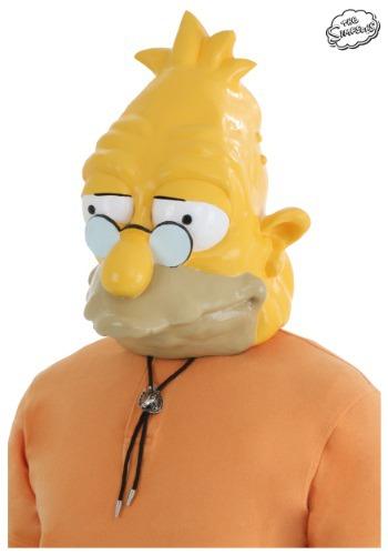 Máscara del abuelo Simpson