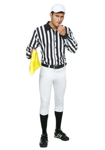 Disfraz de árbitro para adulto