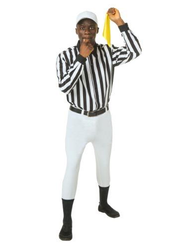 Disfraz de árbitro talla extra