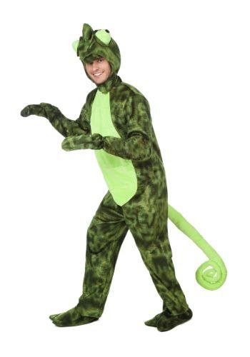 Disfraz de camaleón para adulto