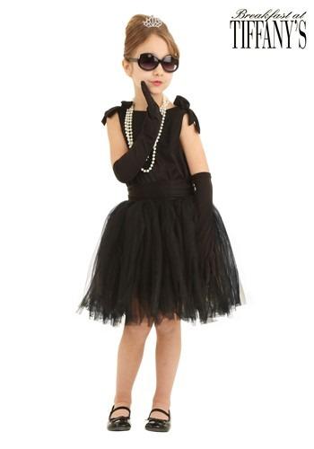 Disfraz infantil de Holly Golightly de Breakfast at Tiffany'
