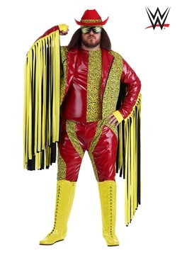 Disfraz de Randy Savage Macho Man talla extra