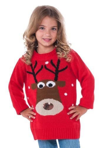 Suéter de Navidad de Reno Niño