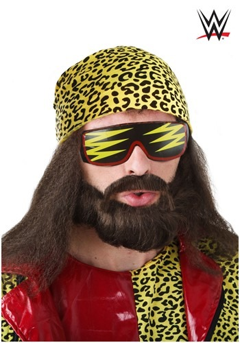 Kit de peluca Randy Savage