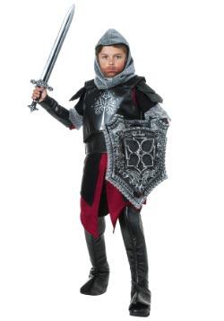 Disfraz infantil de caballero de batalla medieval