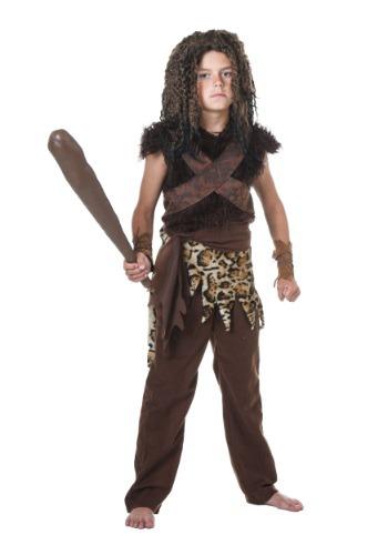Disfraz infantil de cavernícola