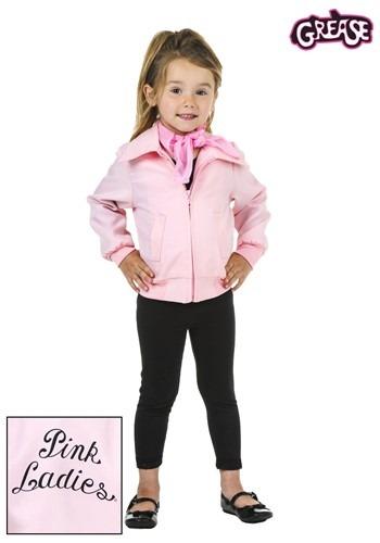 Chaqueta Pink Ladies deluxe para niños pequeños