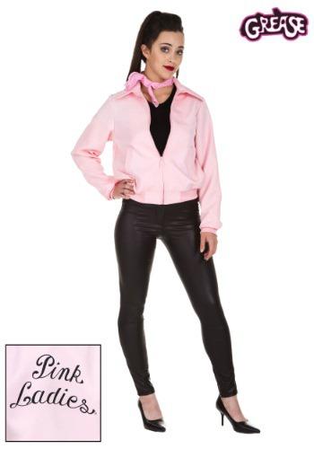 Chaqueta rosa para mujer deluxe para adulto