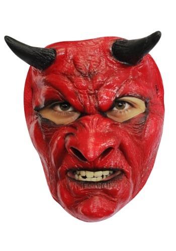 Máscara de diablo malvado para adulto