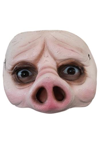 Media máscara de cerdo para adulto
