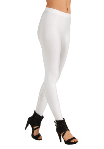 Leggings para mujer de color blanco