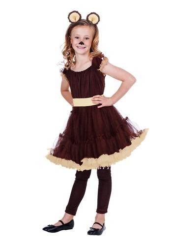 Disfraz de oso para niñas