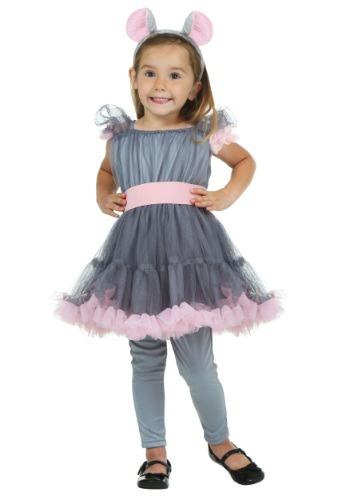 Disfraz de ratona para niñas pequeñas