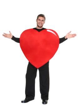 Disfraz de corazón para adulto