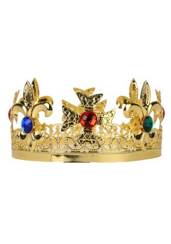 Corona del rey de metal