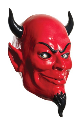 Máscara de diablo Scream Queens para adulto