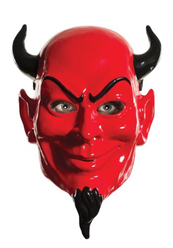 Máscara del diablo Scream Queens Vacuum Form para adulto