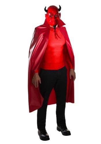 Set de máscara y capa de diablo Scream Queens para adulto
