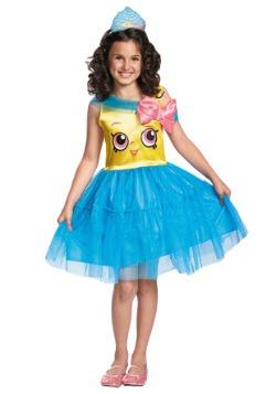 Vestido Shopkins Reina Cupcake clásico para niña