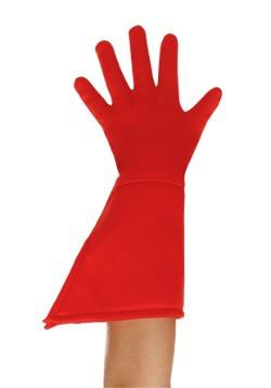 Guantes rojos de superhéroe para niños